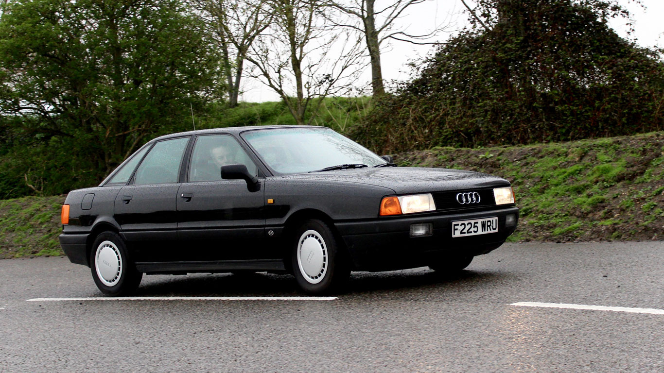 Audi 80 1 8 S Retro Road Test Motoring Research