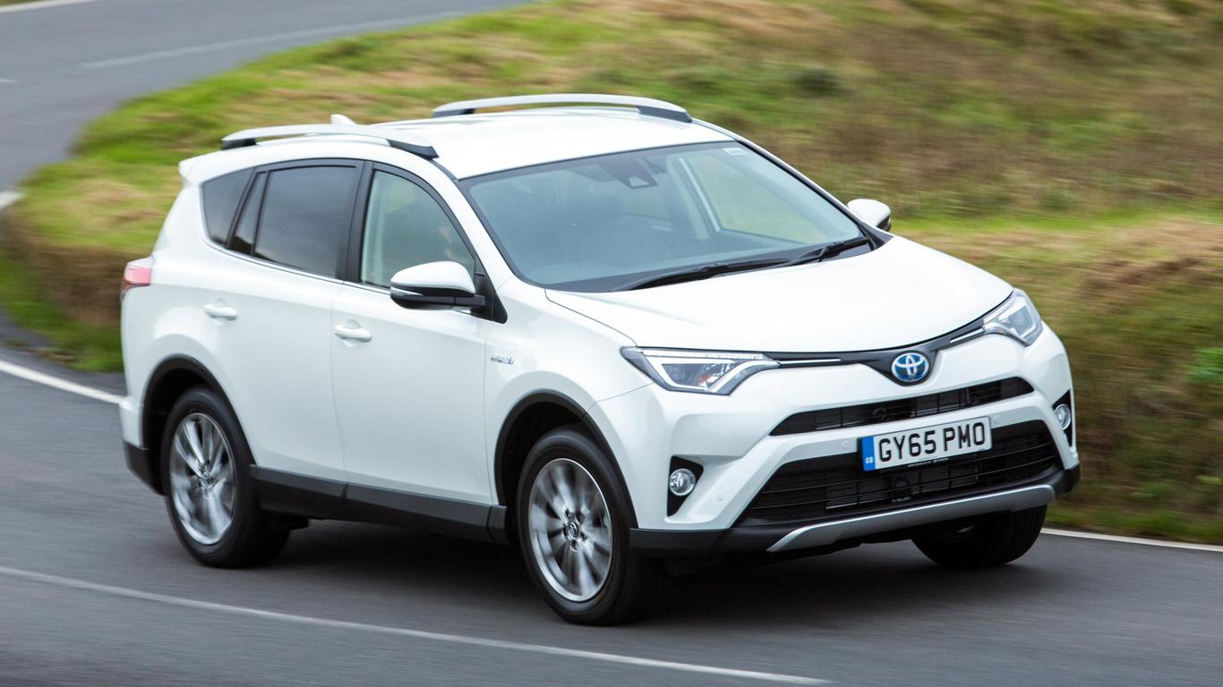 Toyota RAV4 hybrid: £10.32 a day