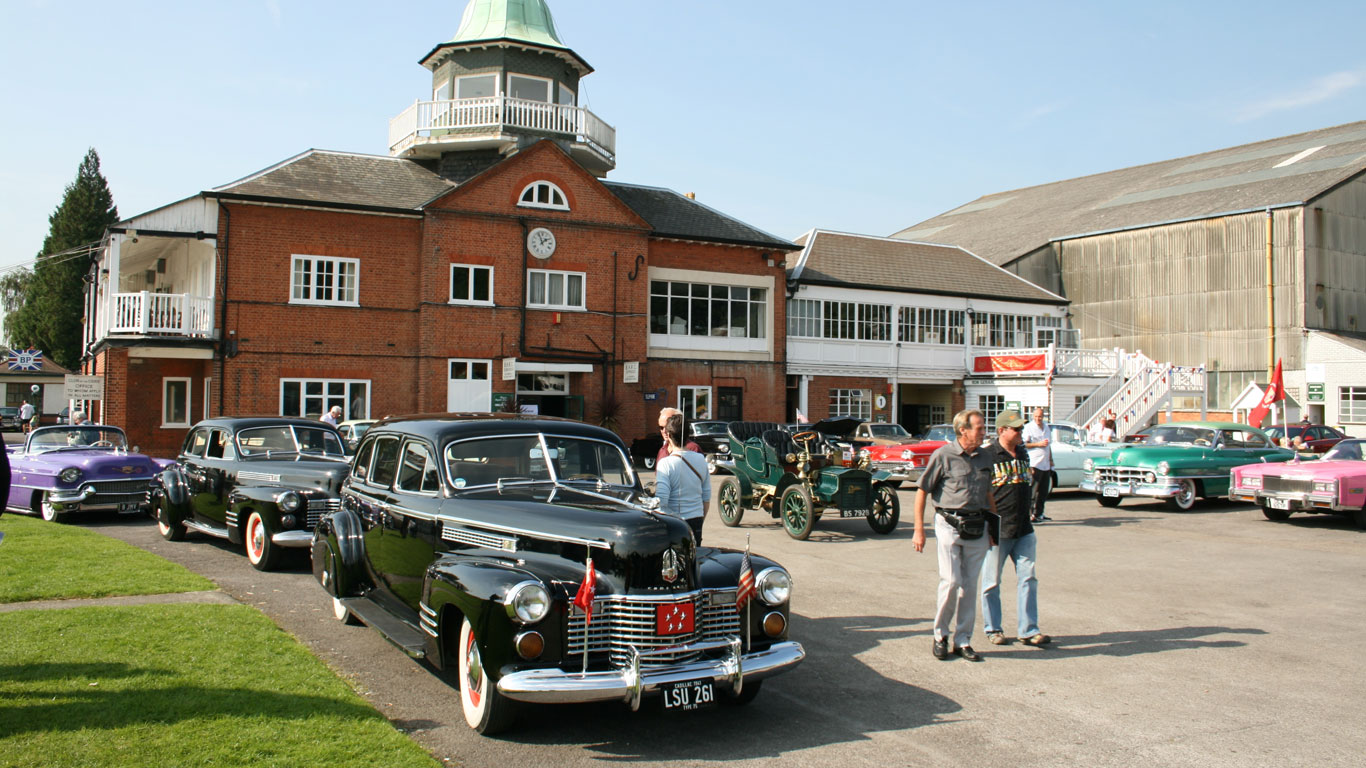 Brooklands Museum, Surrey, UK