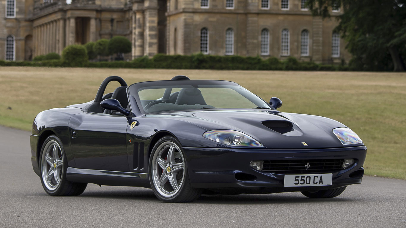2001 Ferrari 550 Barchetta Pininfarina: 271% growth