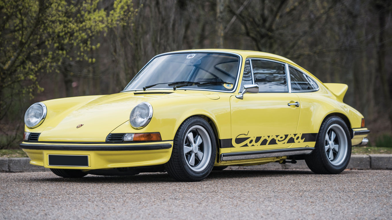Porsche 911 Carrera RS 2.7 Touring: €580,000 - €680,000 (£460,000 - £539,000)