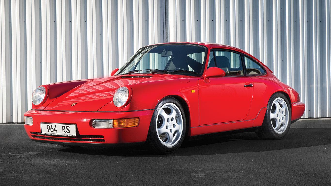 Porsche 911 Carrera RS: €375,000 - €450,000 (£297,000 - £357,000)