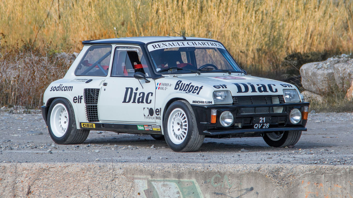Renault 5 Turbo Group 4: €250,000 - €350,000 (£198,000 - £278,000)