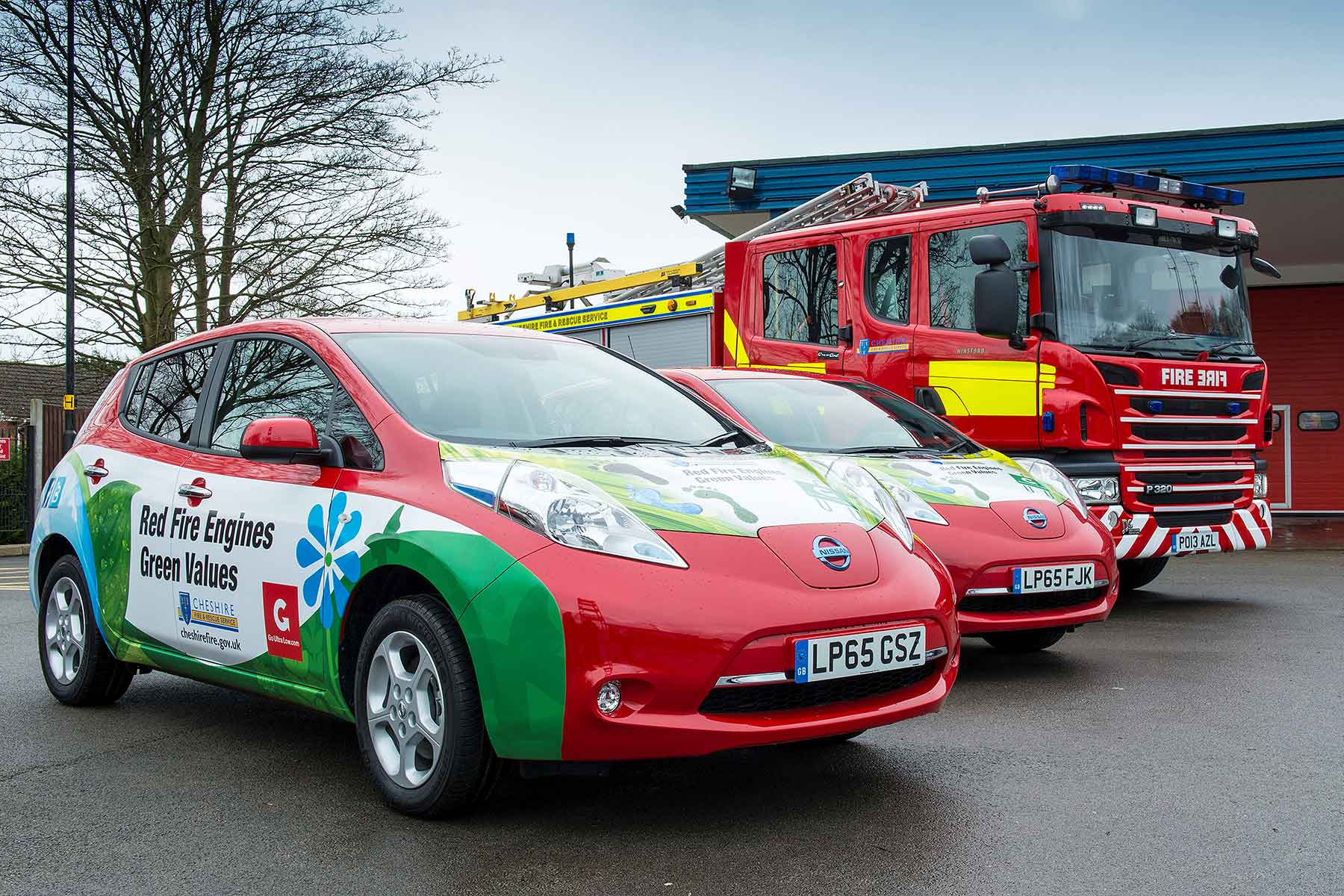Nissan EV London Fire Brigade