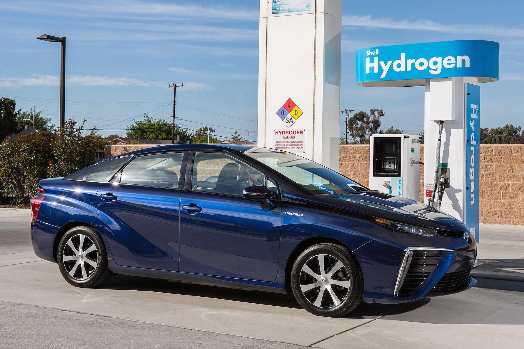 Toyota Mirai Hydrogen Fuel Cell