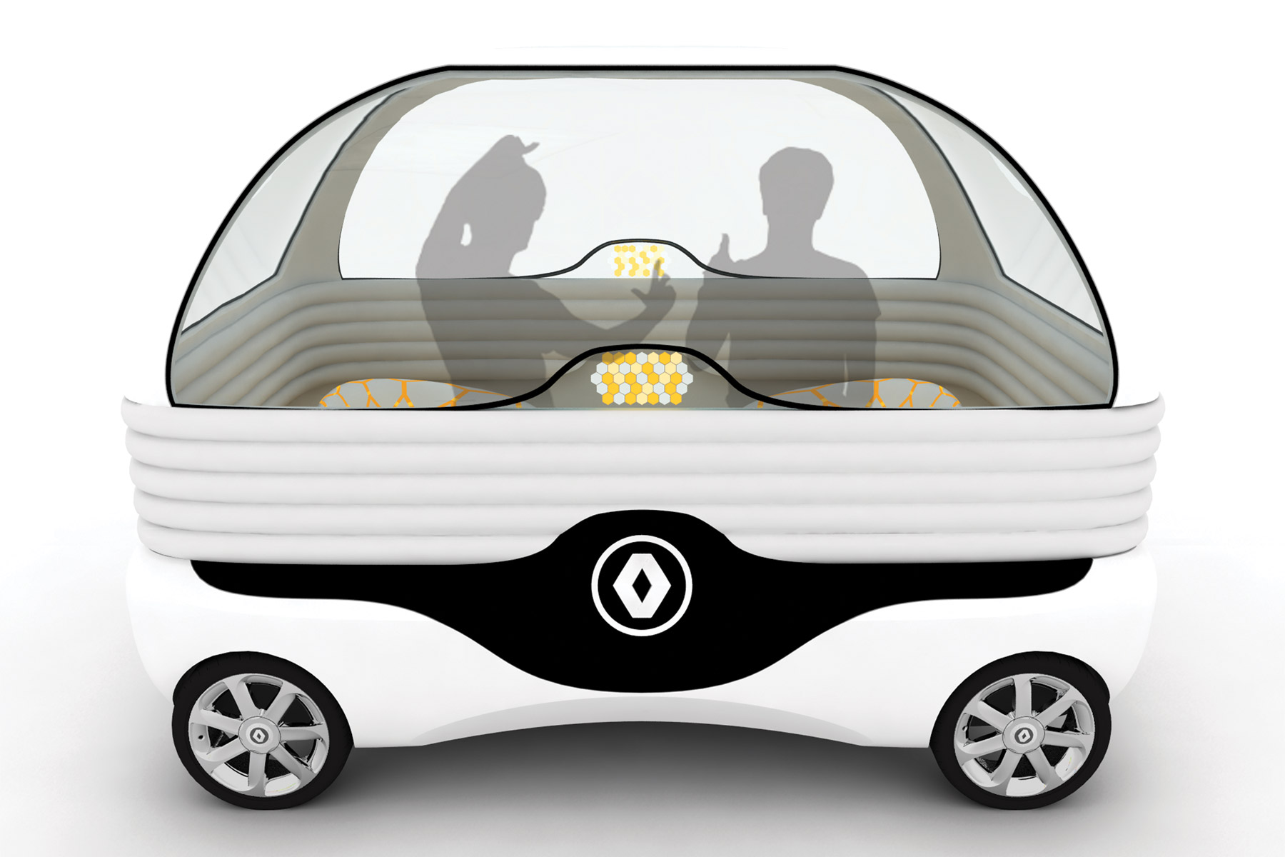 Will driverless cars look like this?