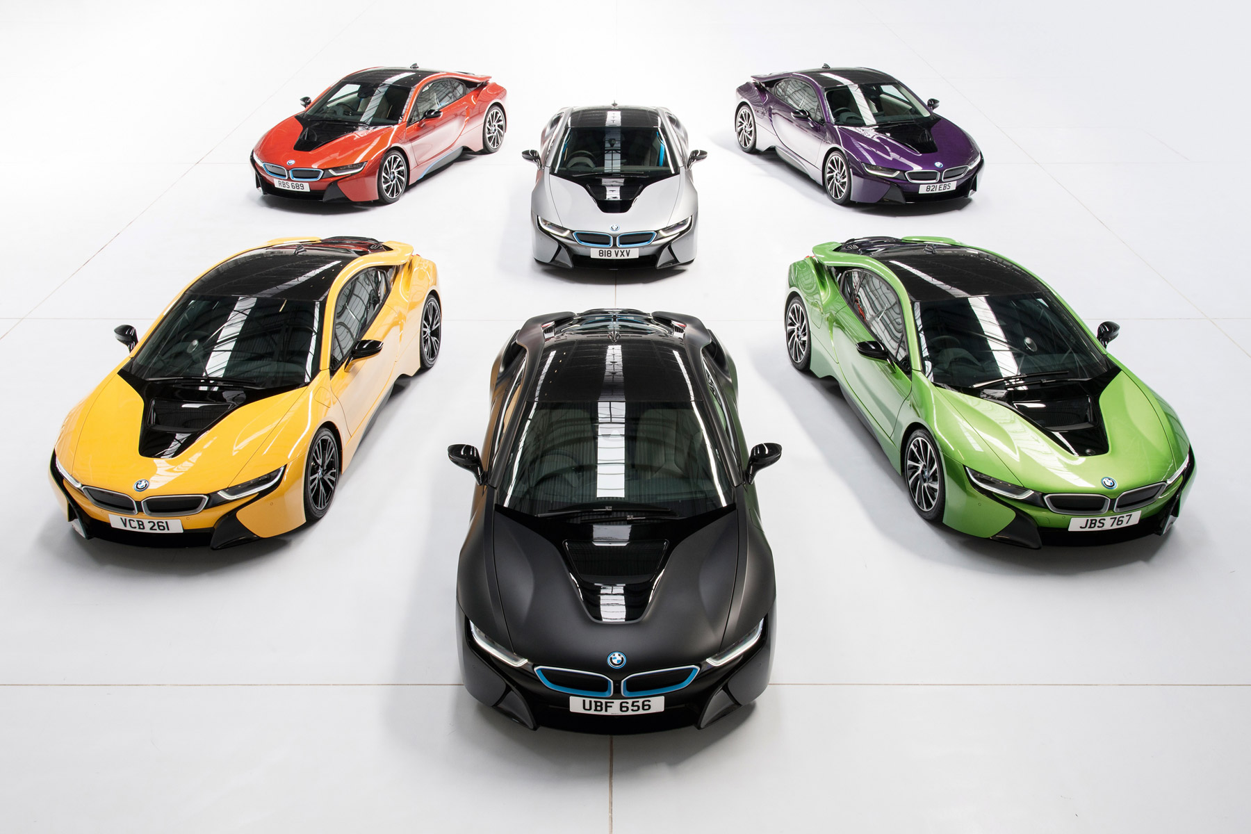 Bmw Will Paint Your I8 In One Of These Funky Colours For 5 495