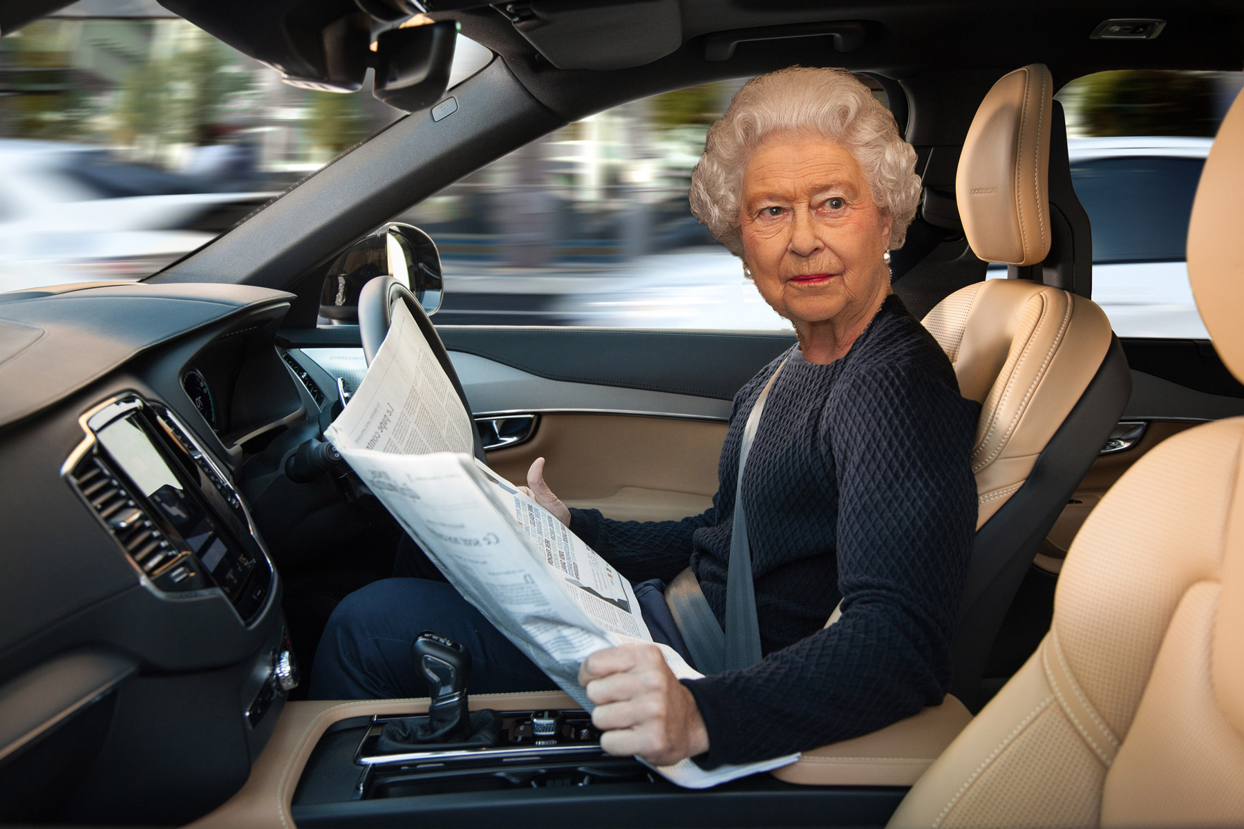 Queen gives autonomous cars the go-ahead
