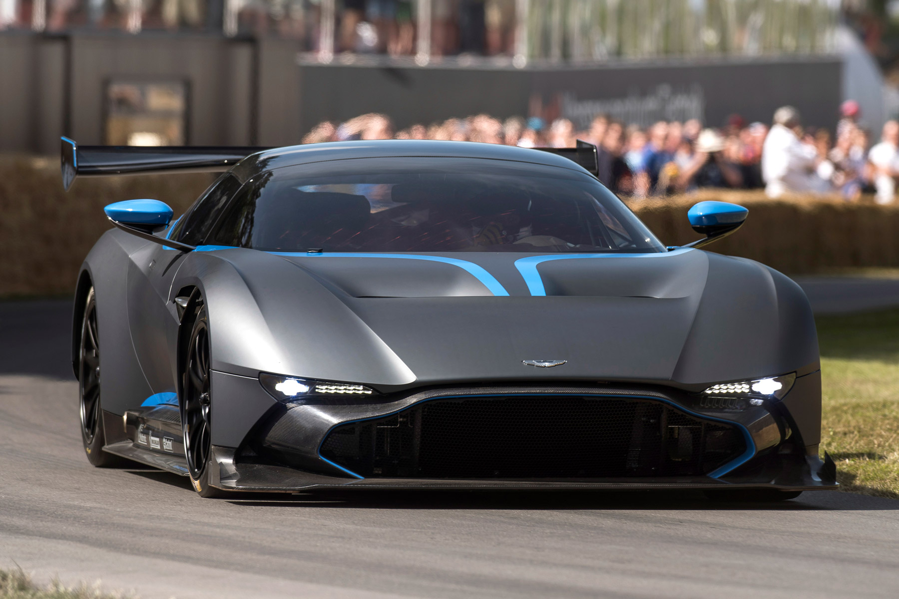 Aston Martin Vulcan To Make UK Road Debut... On Coventry