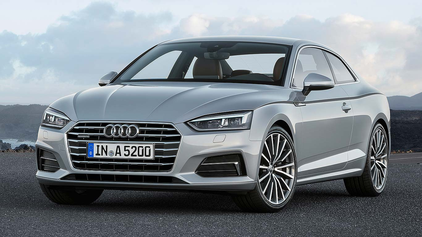 All New 2016 Audi A5 Coupe
