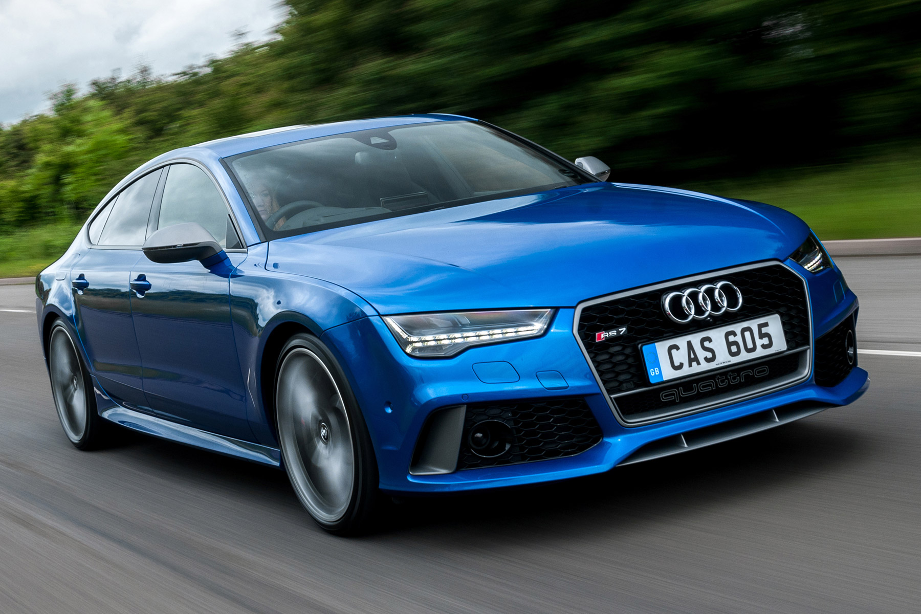 Audi RS7 Performance: Two-Minute Road Test