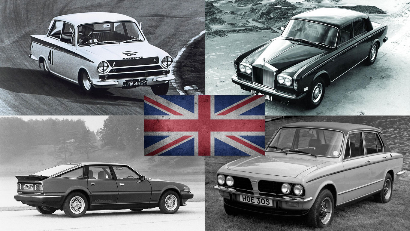 Best of British: 25 homegrown cars to make us proud