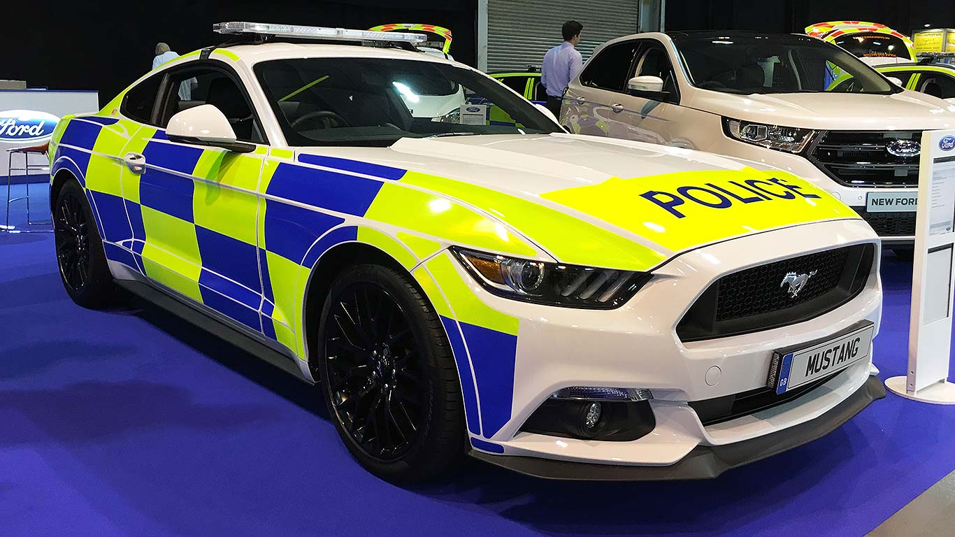 police ford mustang already being trialled by forces motoring research. Black Bedroom Furniture Sets. Home Design Ideas