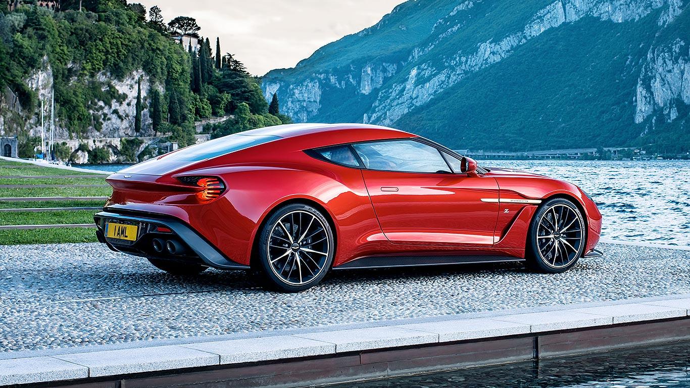 Aston Martin Vanquish Zagato (2016)