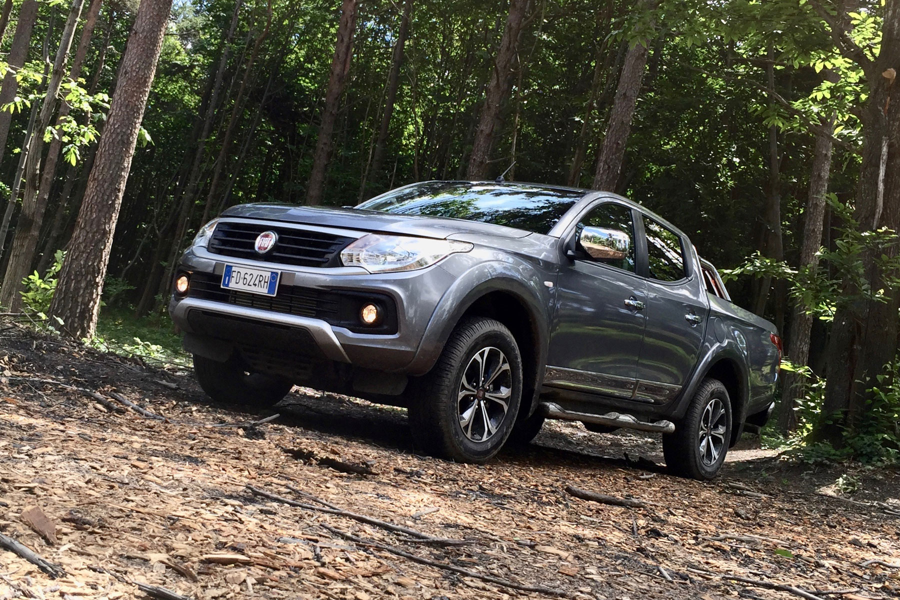 Fiat Fullback off road
