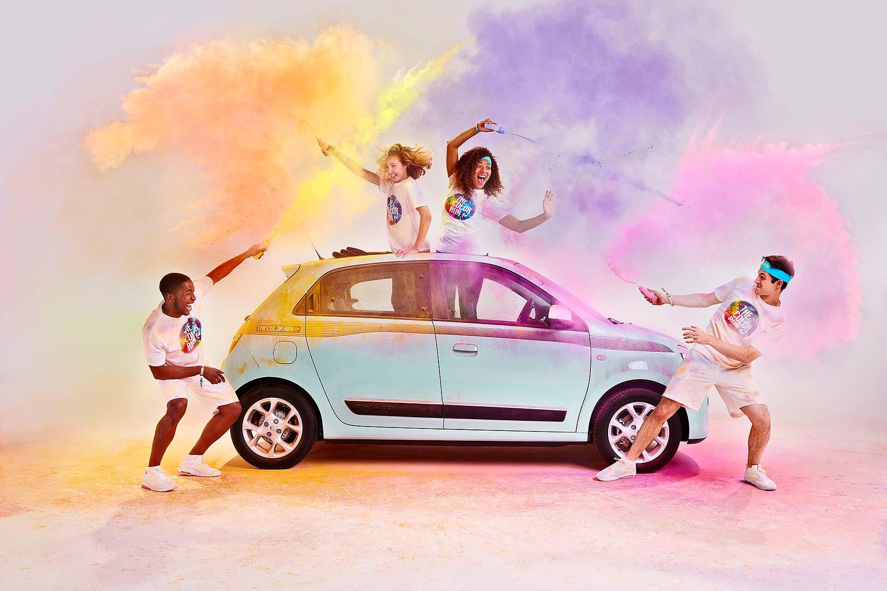 Renault Twingo Colour Run 2016