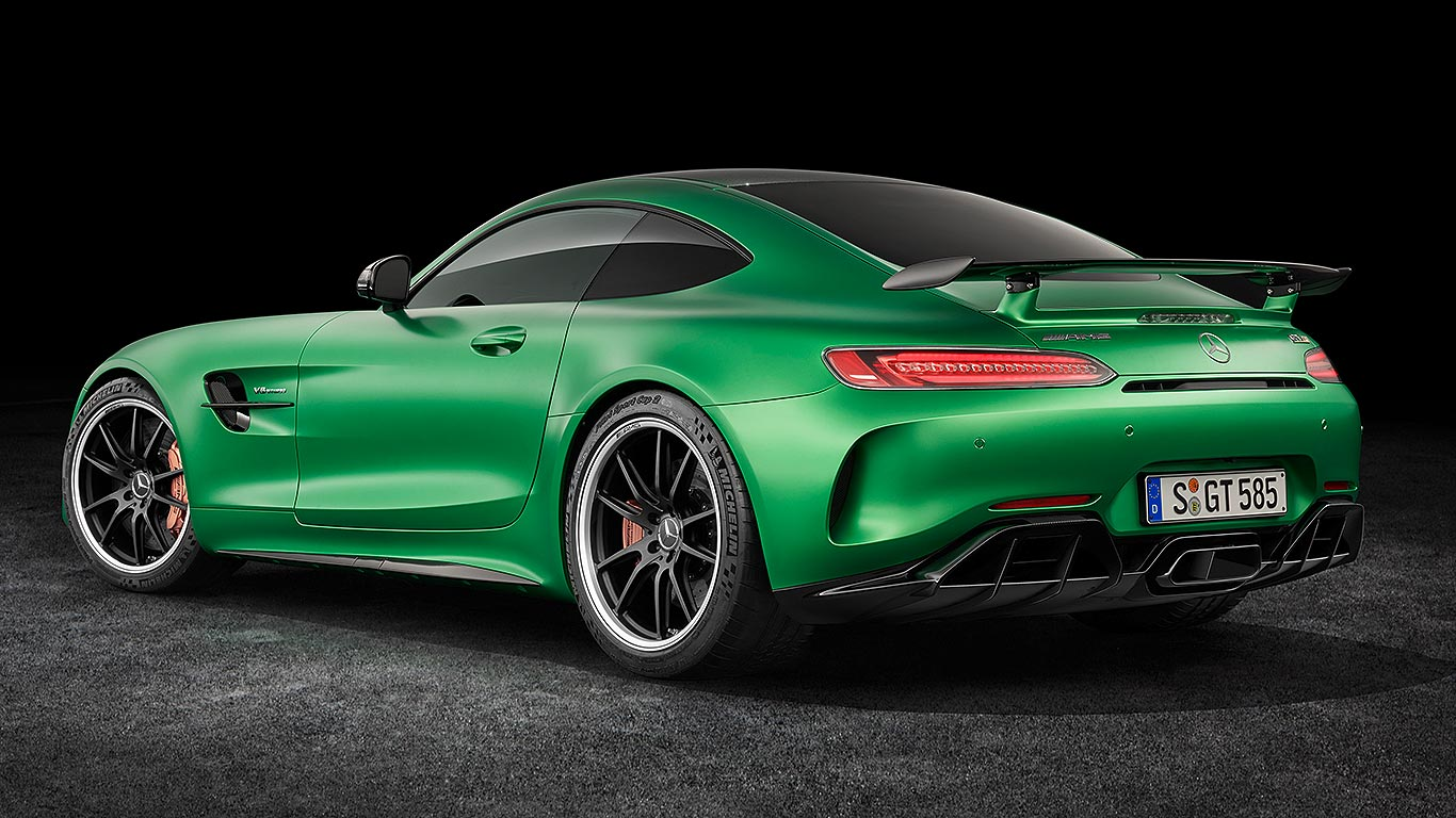 lewis hamilton reveals new mercedes amg gt r motoring. Black Bedroom Furniture Sets. Home Design Ideas