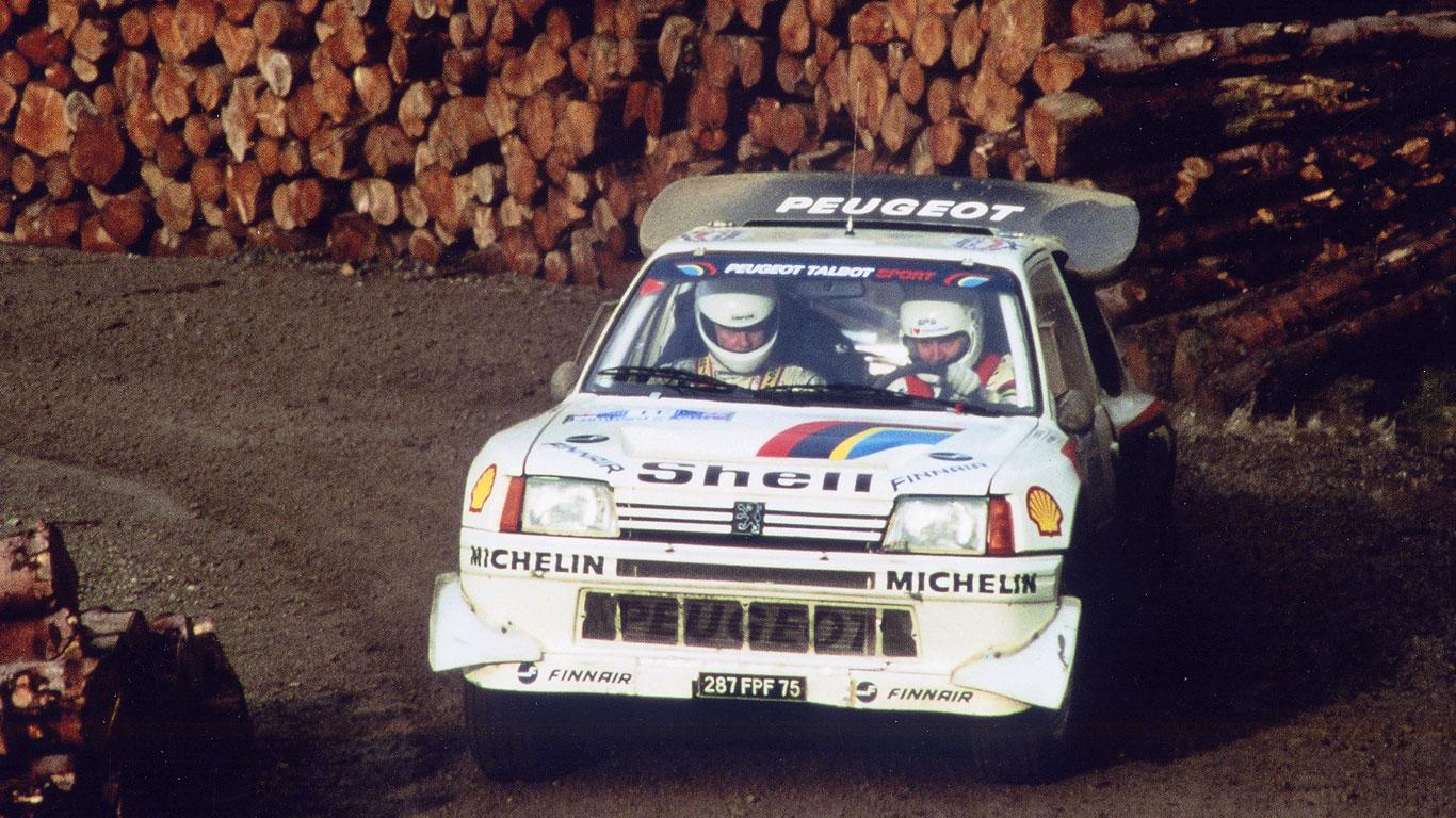 Group B Peugeot T16