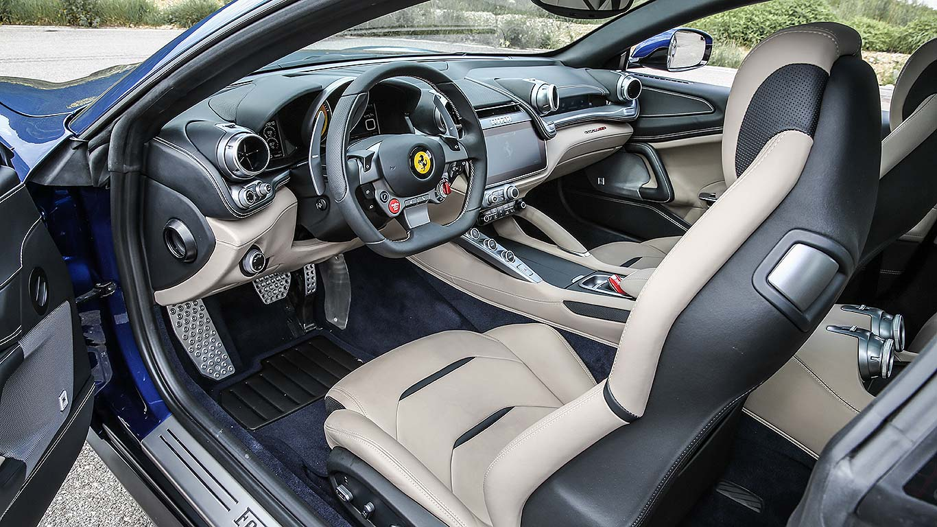 2016 ferrari gtc4lusso review the fastest four seater a lot of money can buy motoring research. Black Bedroom Furniture Sets. Home Design Ideas