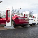 Electric charging points close to overtaking petrol stations in Scotland