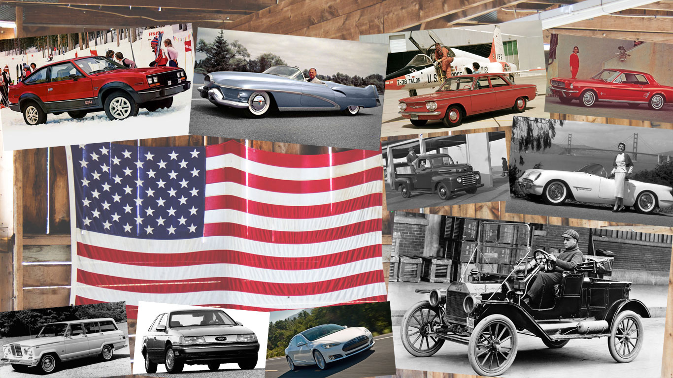 State of independence: American cars that broke the mould