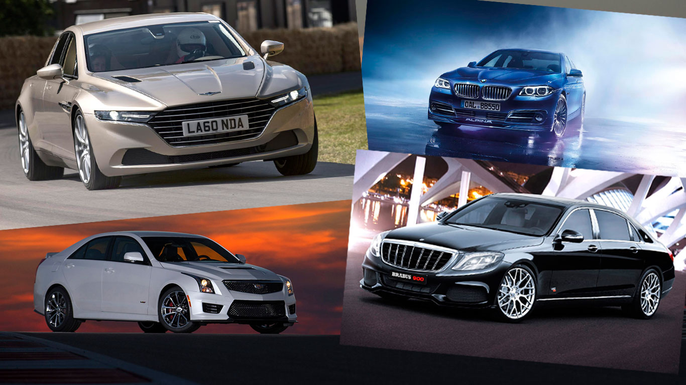 Super saloons: 30 of the world's fastest four-doors