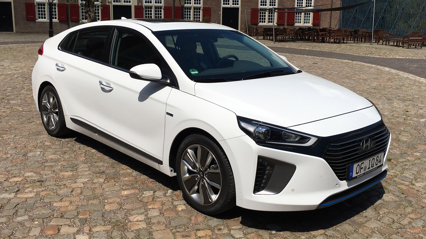 2016 Hyundai Ioniq review: high-tech hybrid/electric car takes on Toyota Prius