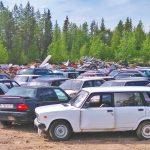 Salla auction East European cars
