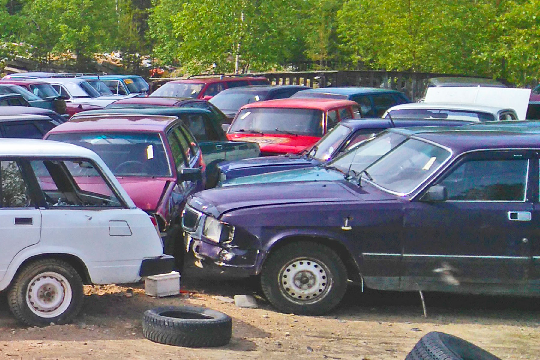Auction cars in Finland