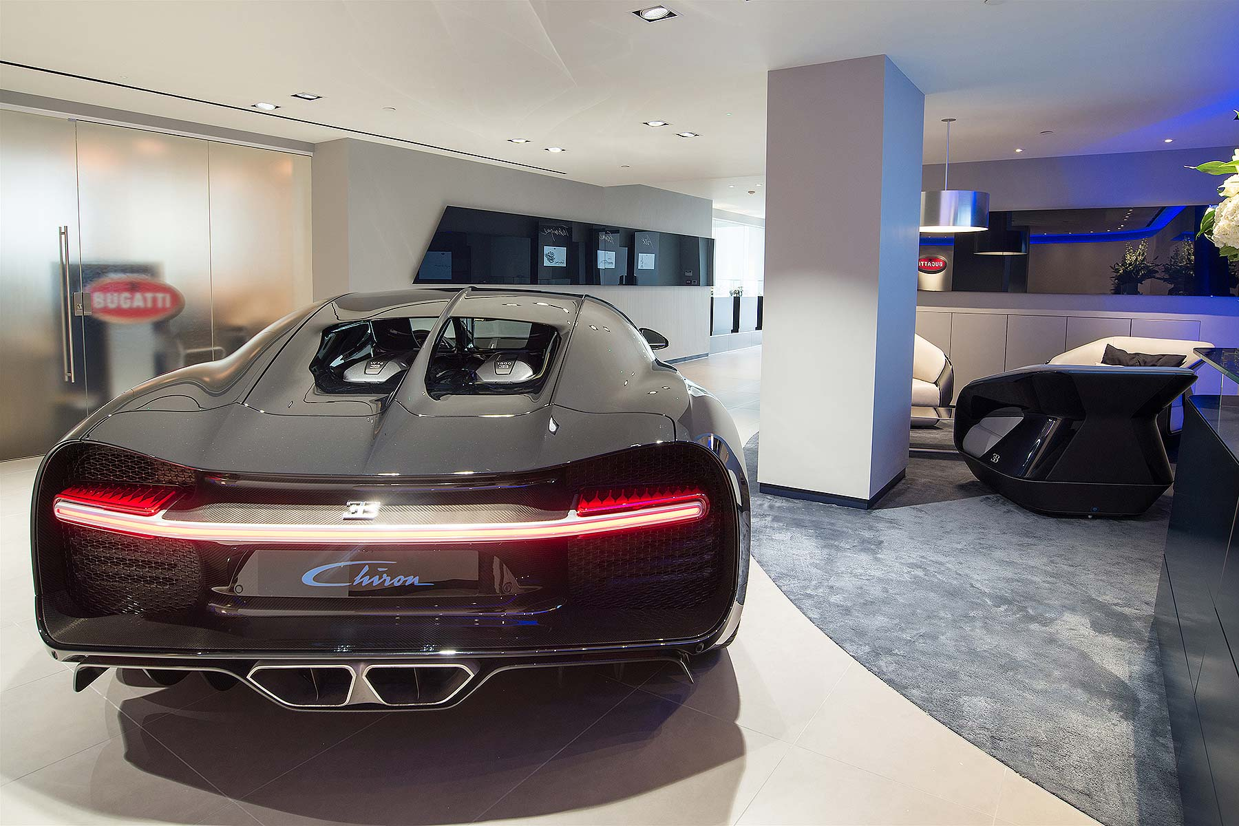 New Bugatti Dealer Opens In London S Mayfair Motoring