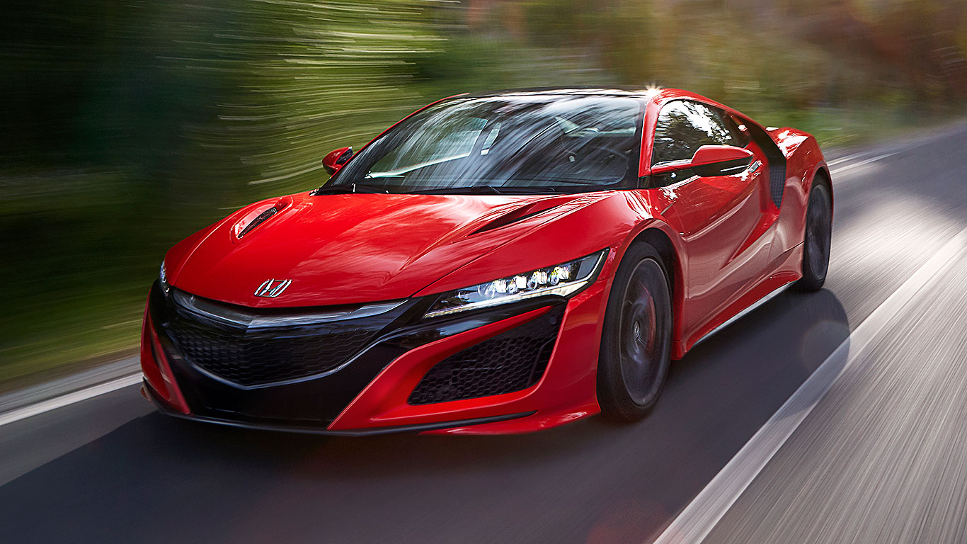 2016 Honda Nsx Review The World S Most High Tech Sports Car Driven