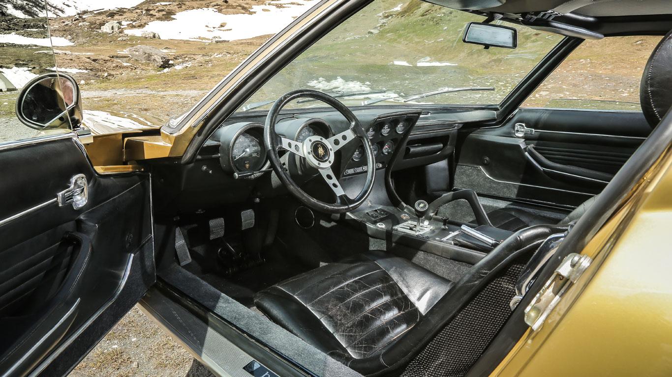 Plush interior