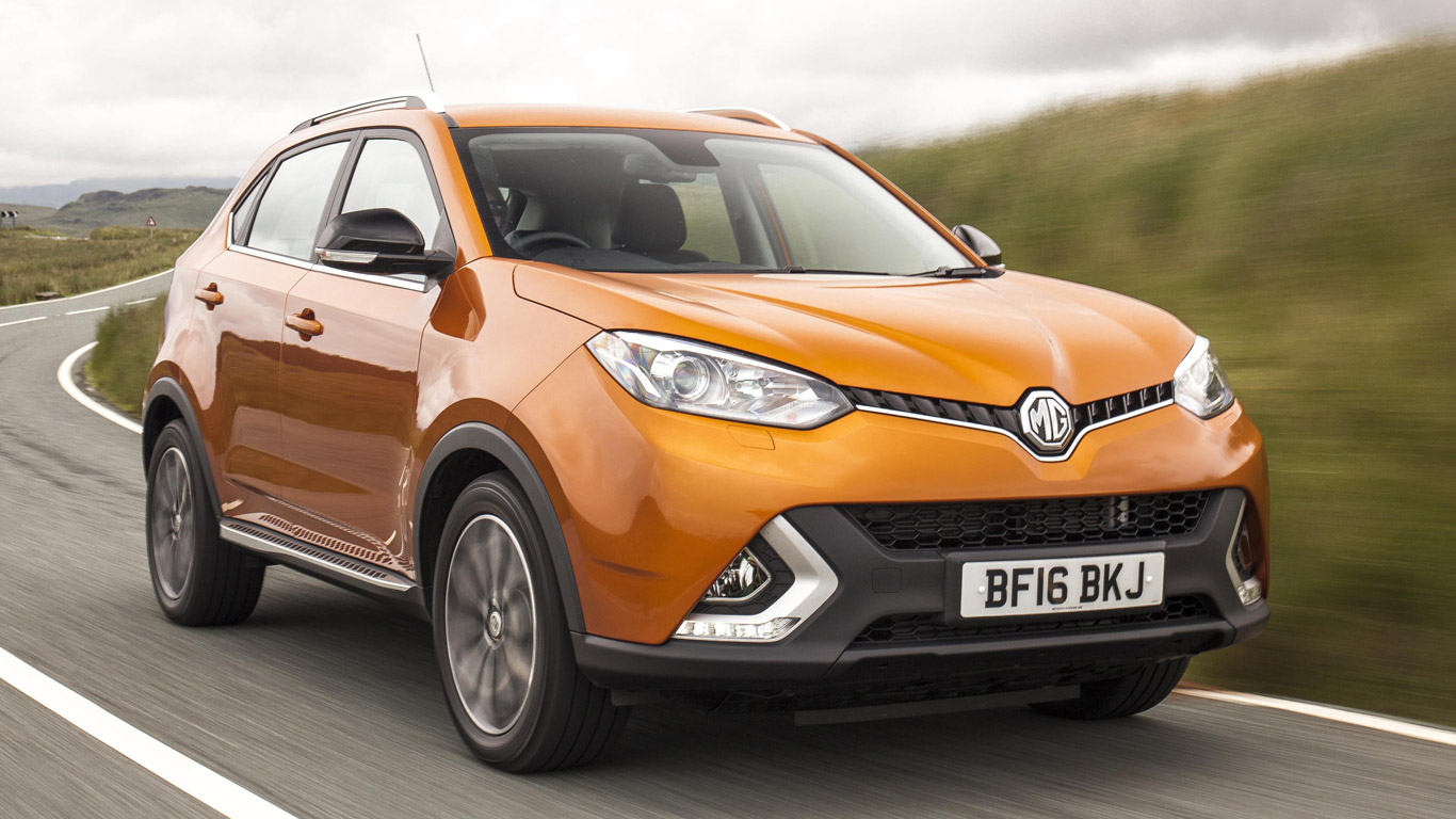 MG GS Explore: £199 a month