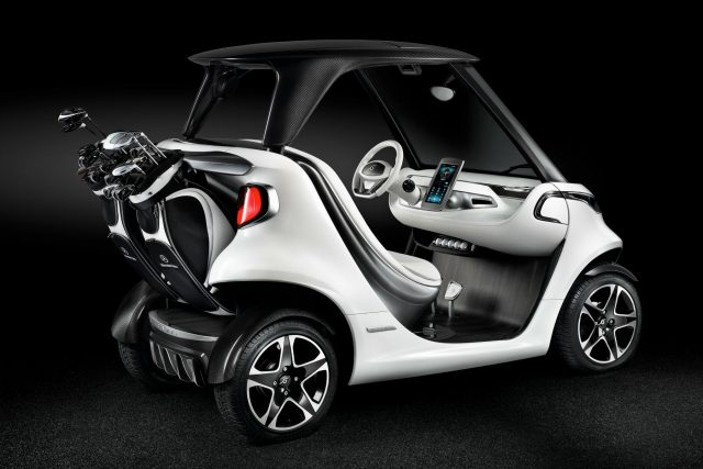 Mercedes-Benz Style Edition Garia Golf Car