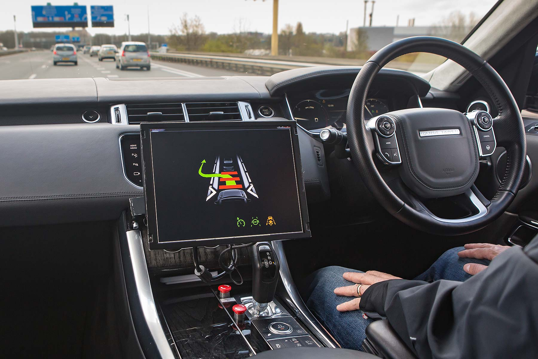 JLR Driving Towards Autonomy
