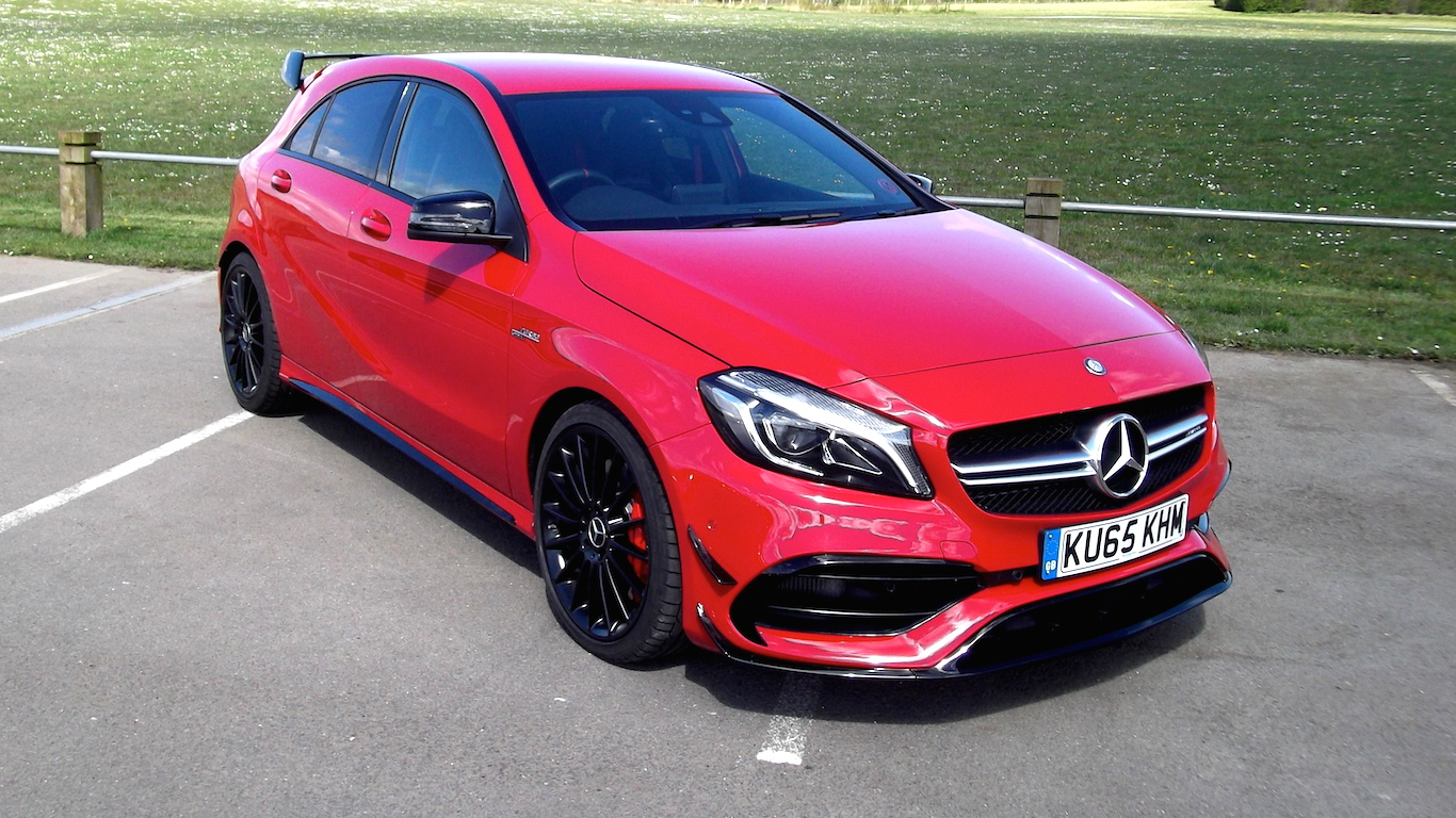 Test drive the 2016 mercedes benz a45 amg cool hunting for Mercedes benz a45 amg