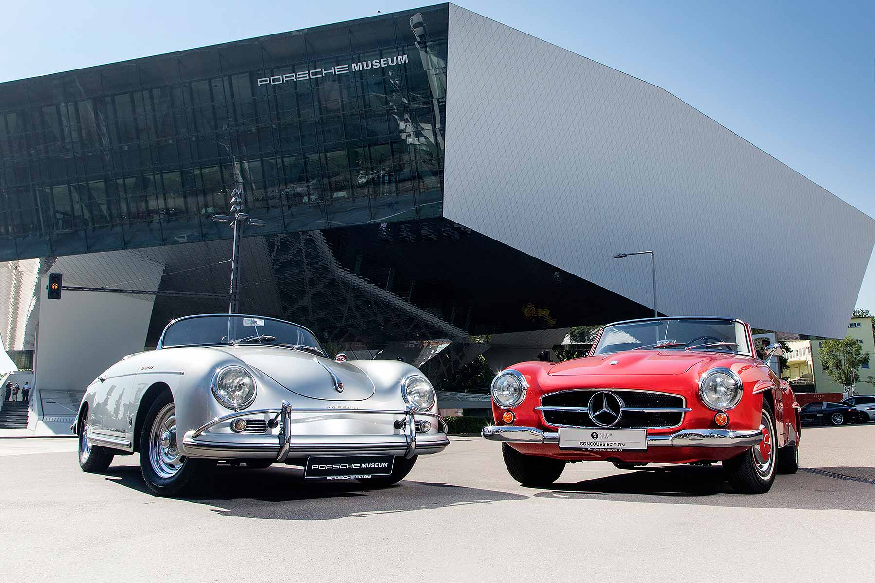 porsche and mercedes benz in historic joint venture motoring research. Black Bedroom Furniture Sets. Home Design Ideas