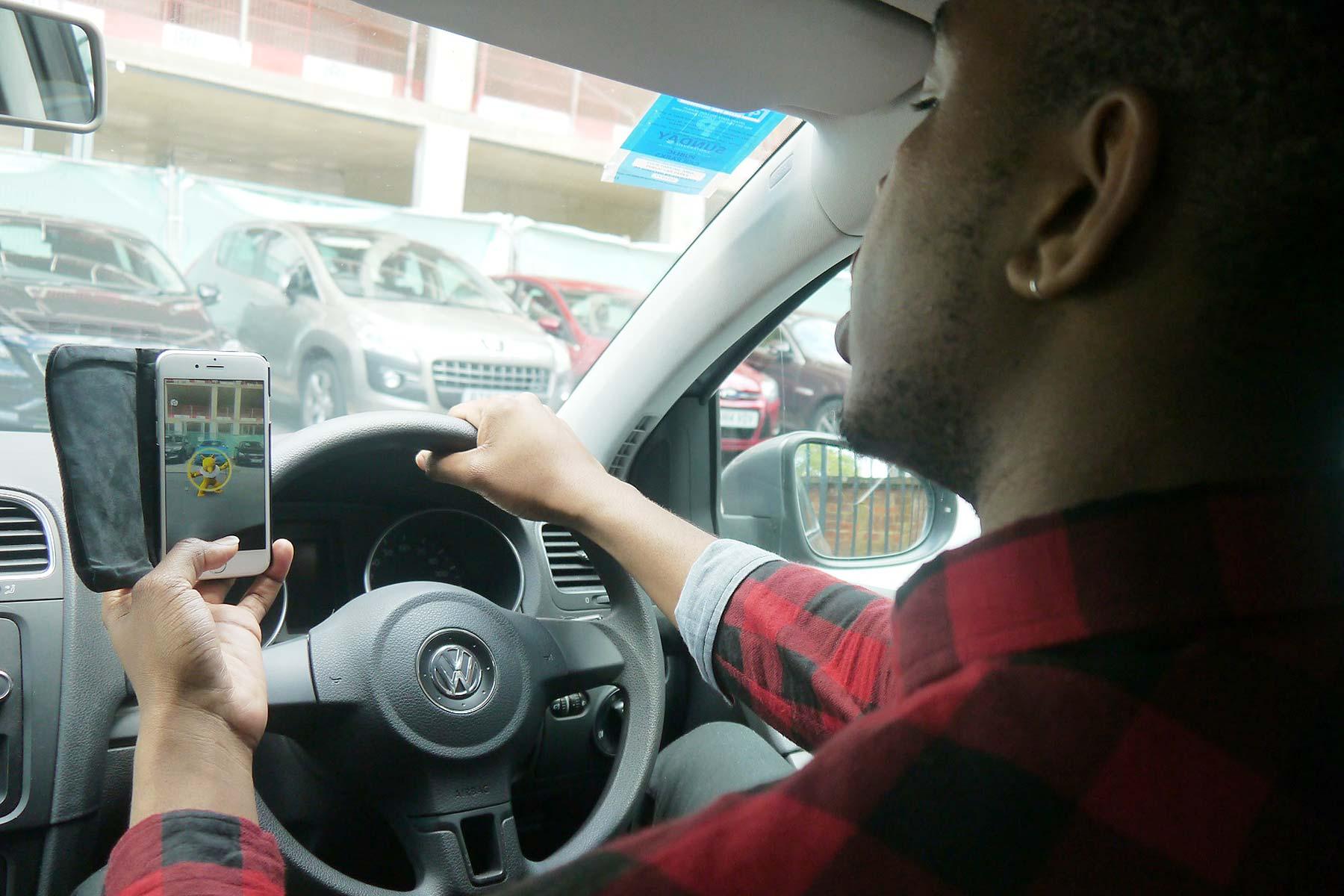 Pokemon Go driving