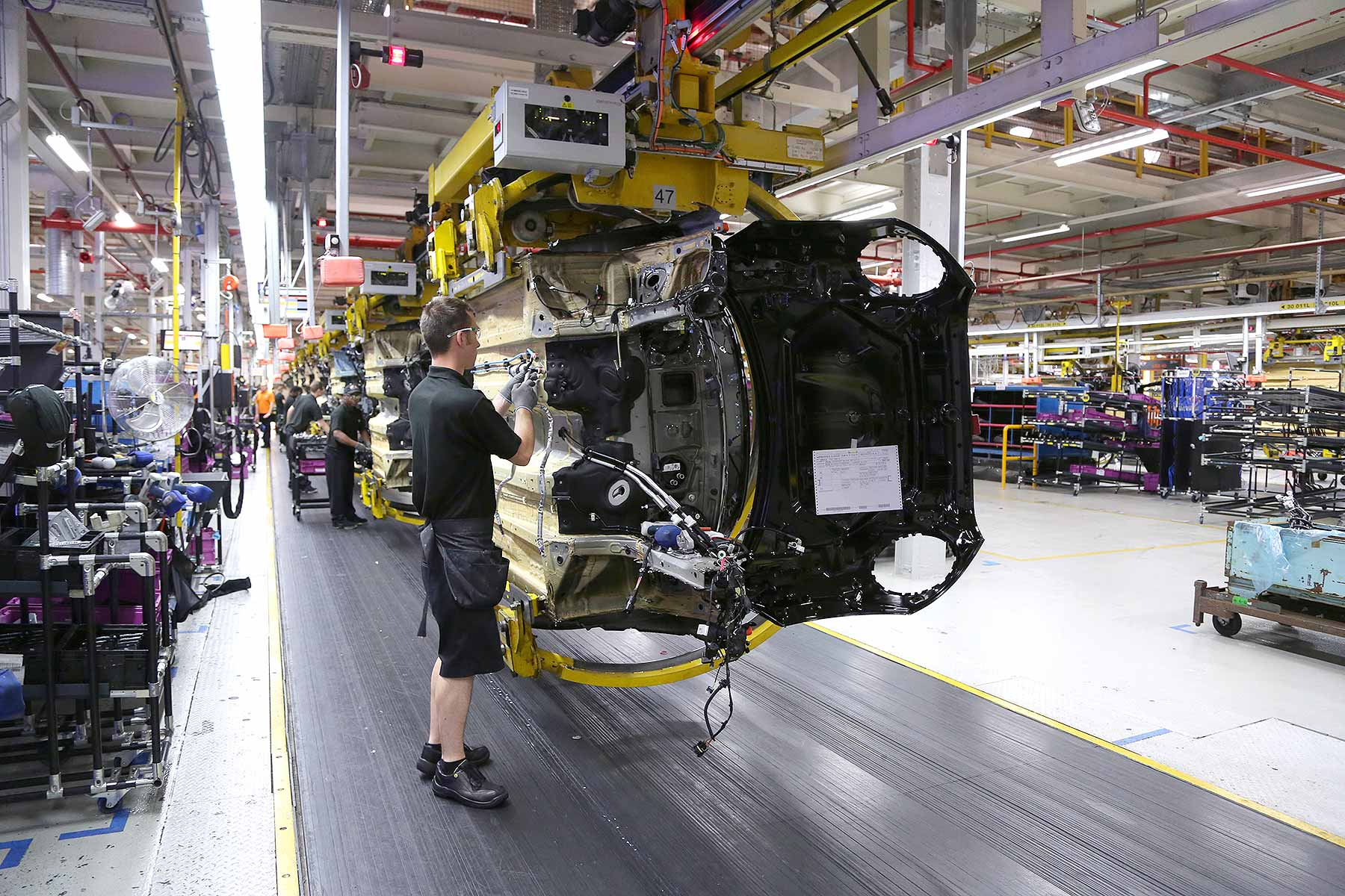 UK automotive car manufacturing June 2016