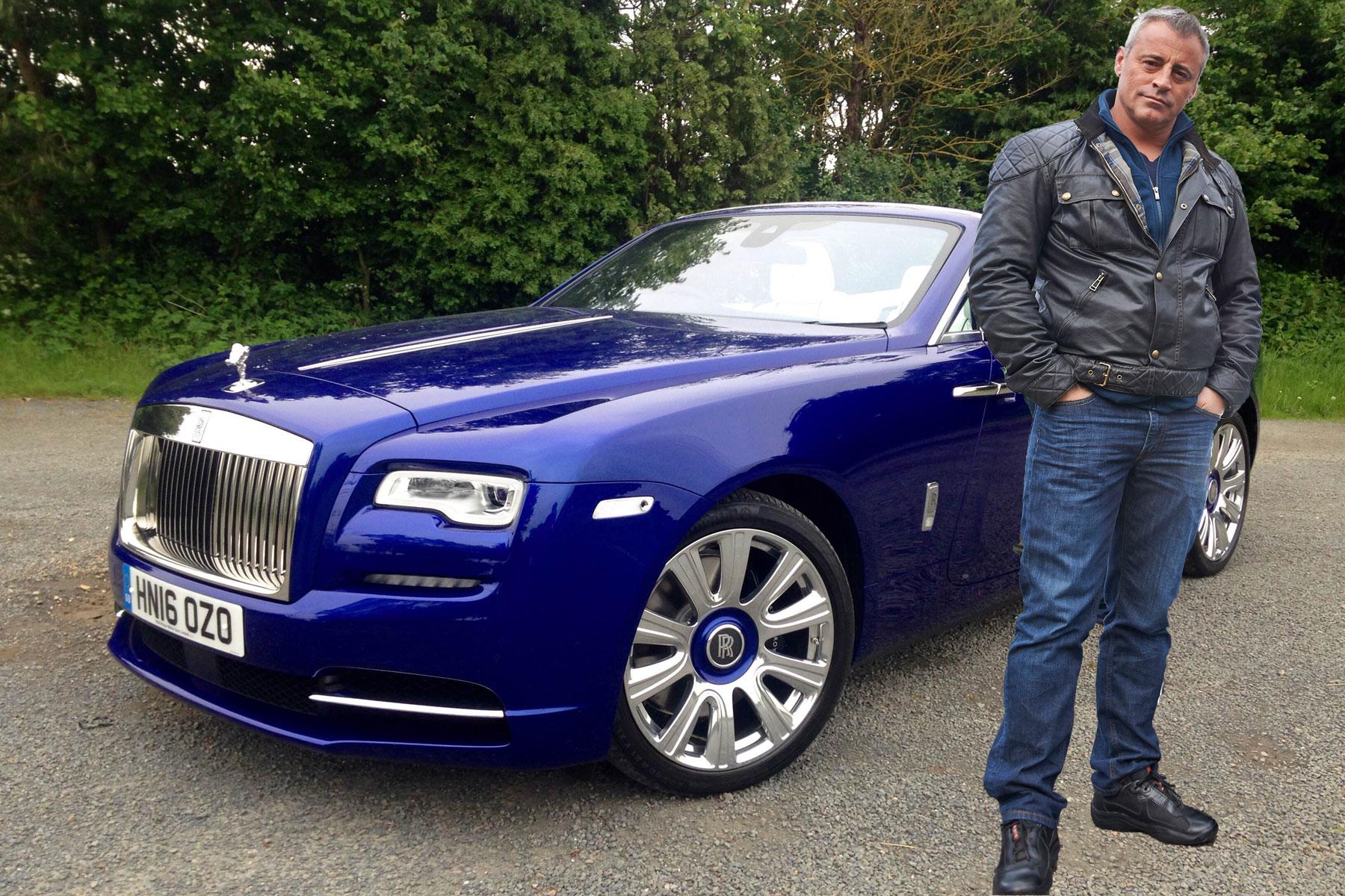 Driven: Matt LeBlanc's Rolls-Royce Dawn