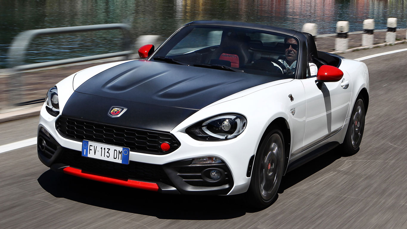 abarth 124 spider two minute road test. Black Bedroom Furniture Sets. Home Design Ideas