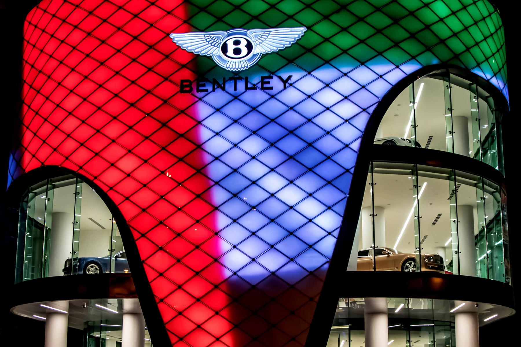 Bentley opens huge six-floor showroom in Dubai