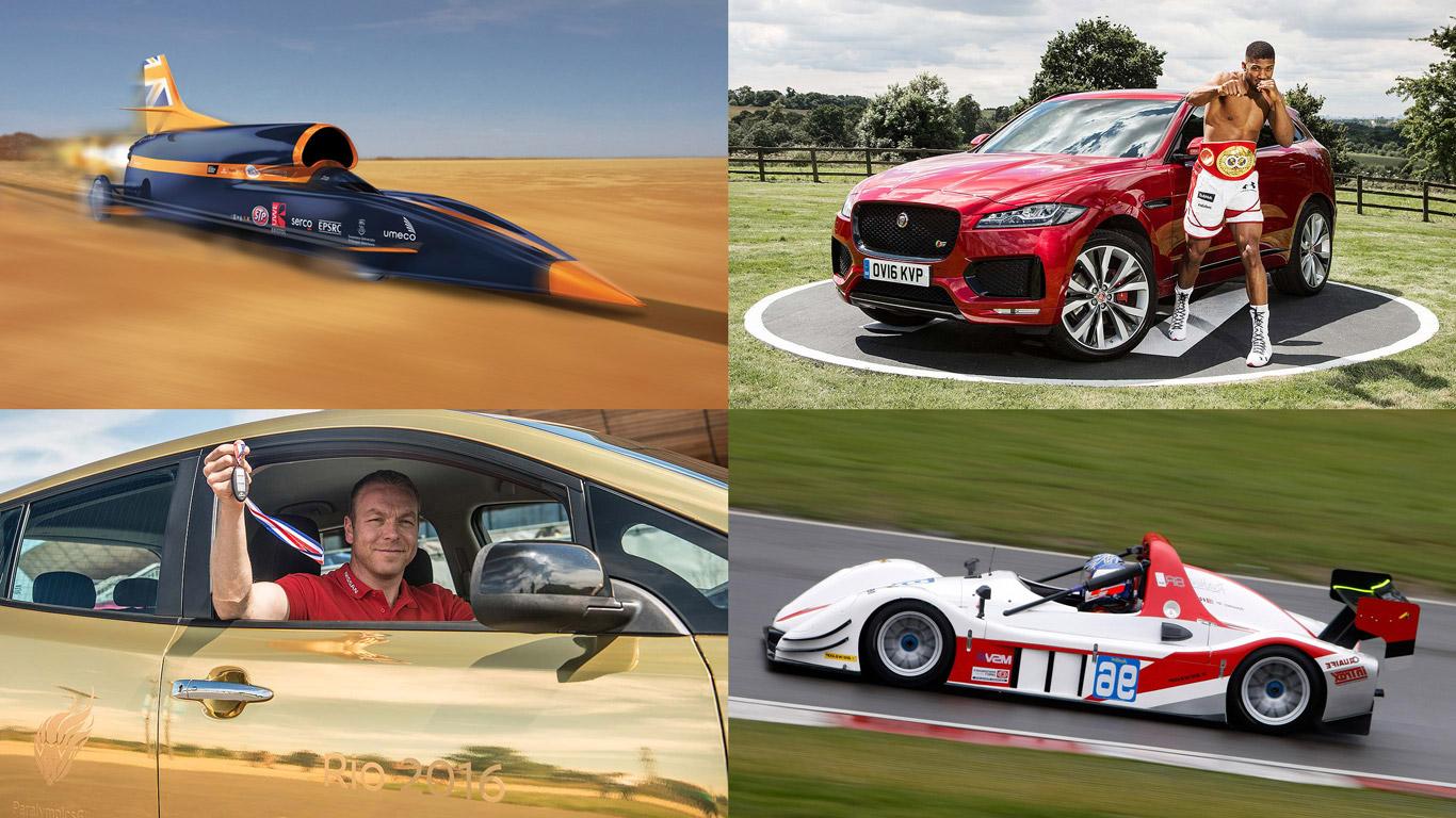 British motoring world-beaters