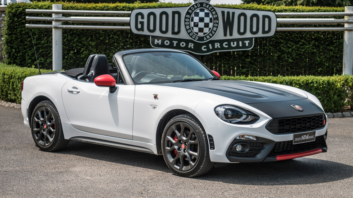Abarth 124 Spider Two Minute Road Test Motoring Research