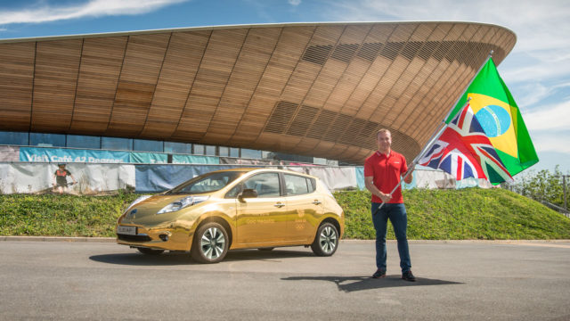 Gold metal: the cars of the Olympic Games