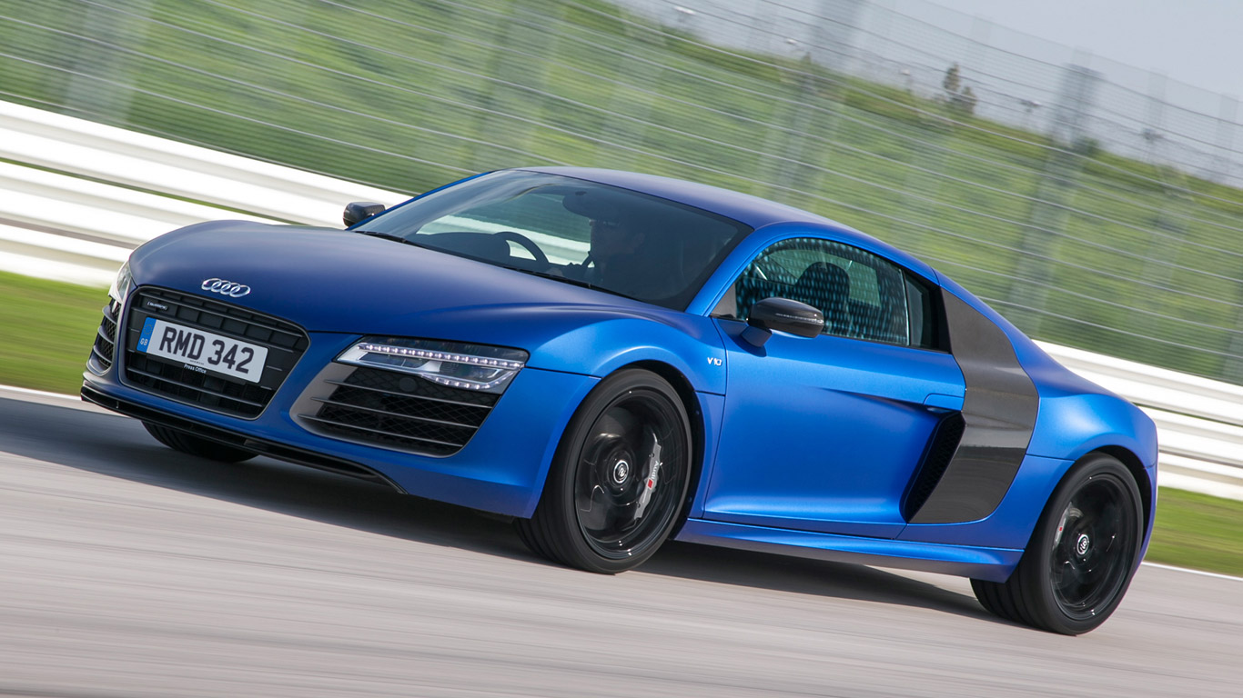 Audi R8 Plus - 3.2 seconds