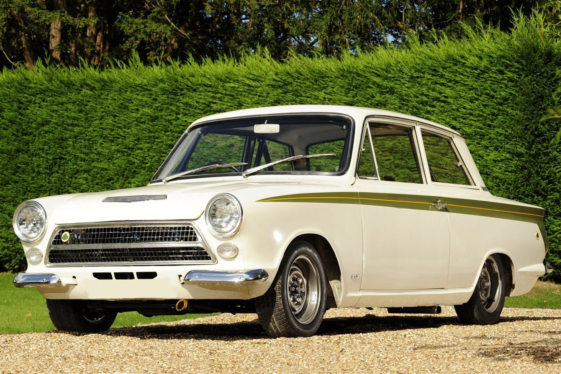 7: Bruce Reynolds' Lotus Cortina