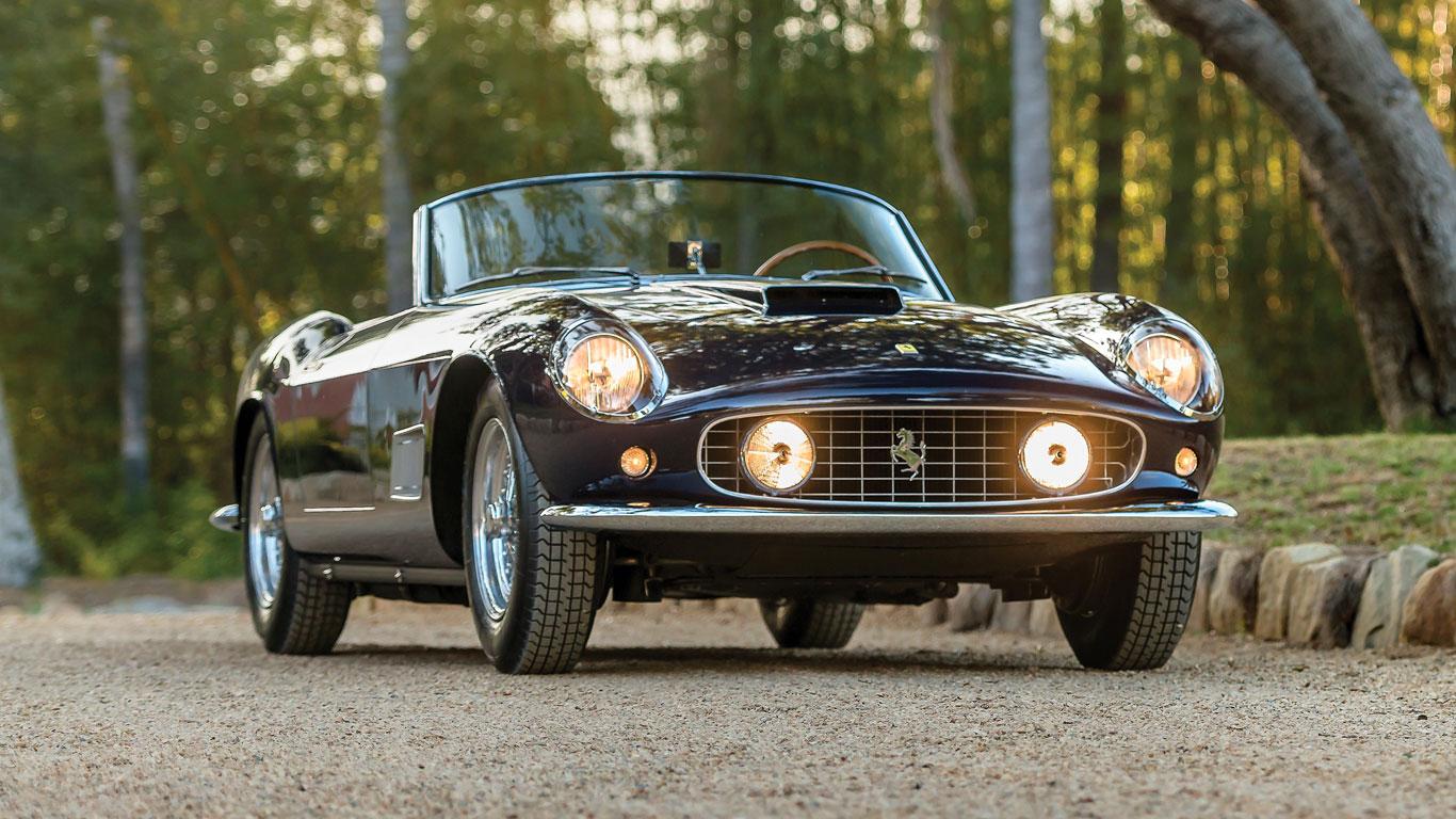 Ferrari 250 GT LWB California Spider: $12,000,000 – $14,000,000 (£9,230,000 – £10,770,000)