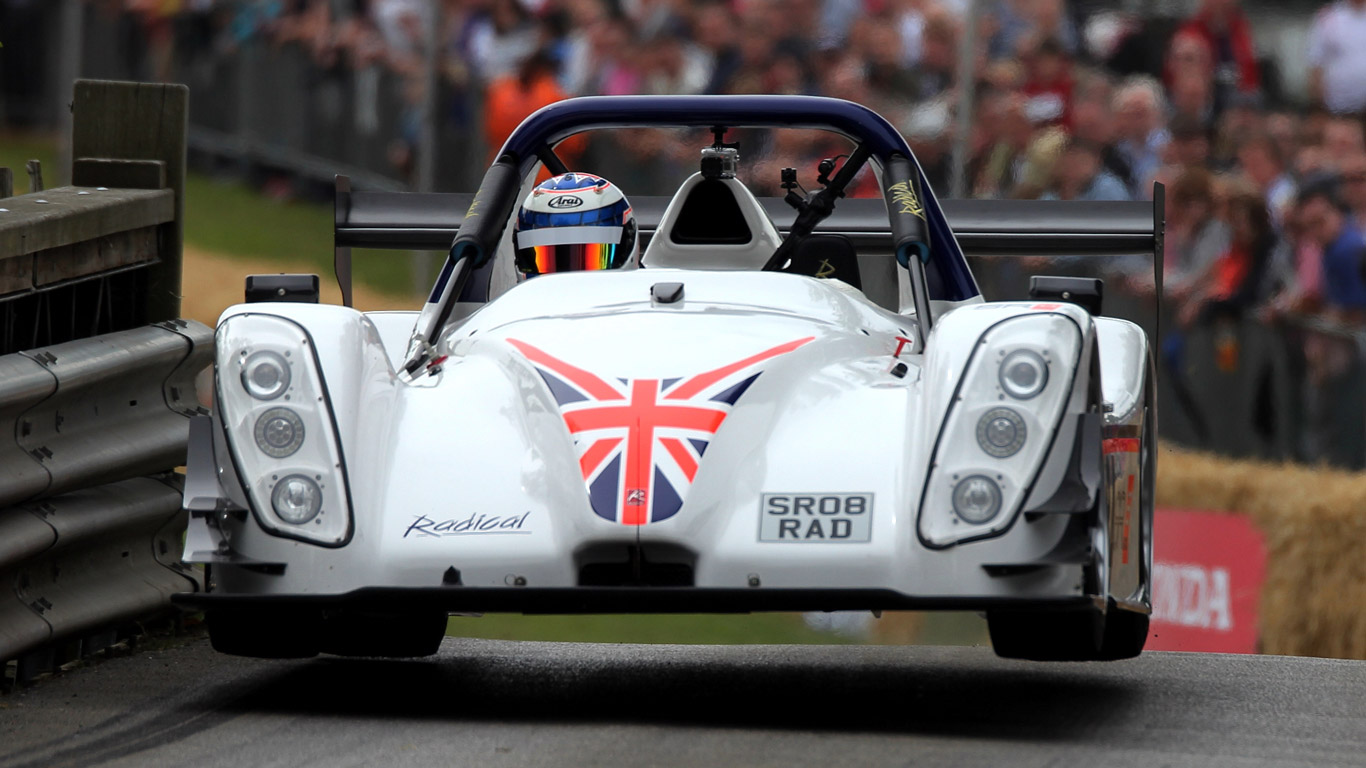 Radical SR8 RX - 2.7 seconds