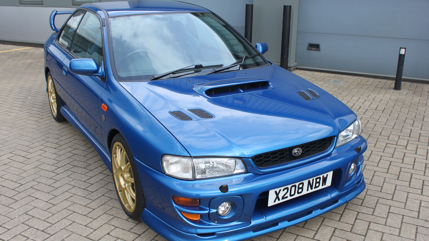 Subaru Impreza P1: £38,000 - £44,000